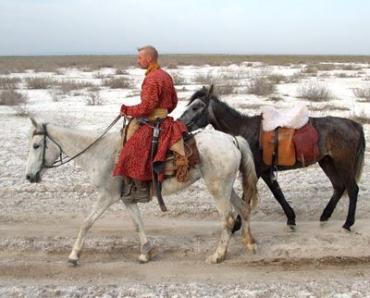 В Керчи гостят венгры, участники конной экспедиции