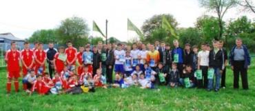 В Ужгородському районі пройшов дитячий футбольний турнір
