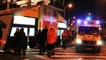 К сожалению, новогодняя ночь в Чехии получилась трагической