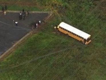 В США голый маньяк проник в школьный автобус