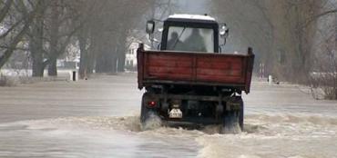 У Закарпатті спадає рівень води