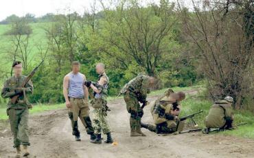 На востоке Украины создан целый отряд из чехов и словаков