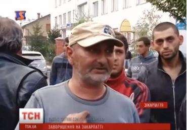 Убивство збурило весь табір у Мукачево