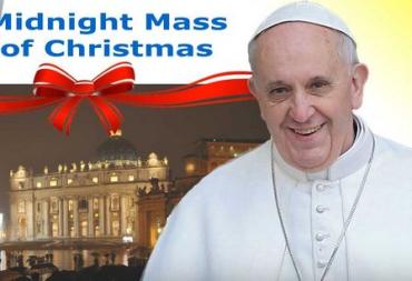Торжественное богослужение проведет Папа Римский Франциск I