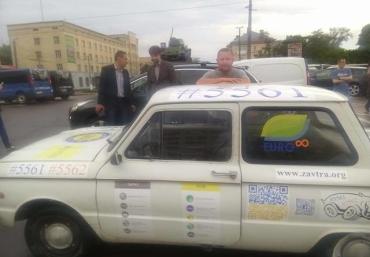 #Микола#Запорожець став об'єктом селфі та приколів.
