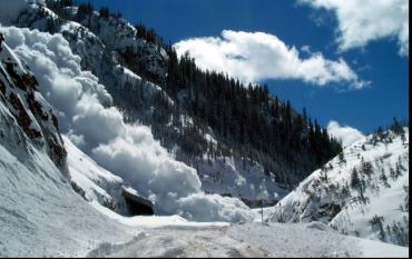 ГСЧС: повышенная лавинная опасность в Карпатах