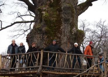 Венгерские журналисты посетили Ужанский национальный парк