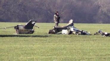Вертолет упал у водохранилища Земплинска Ширава, в 35 км от Ужгорода