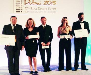 Лучшим дилером SKODA в 2014 году стал ООО «Автоцентр Киев» (г.Киев)
