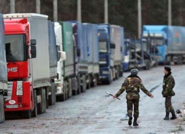На переходе Сирет-Порубное проезд грузовиков запрещен