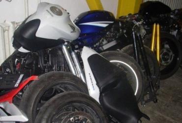 Чопские таможенники изъяли 5 японских мотоциклов