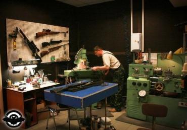 В Ужгородском районе милиция выявила мастерскую оружия