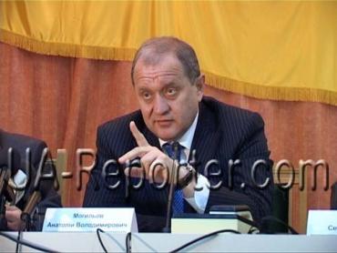 В Ужгороді Міністр МВС Анатолій Могильов провів робочу нараду