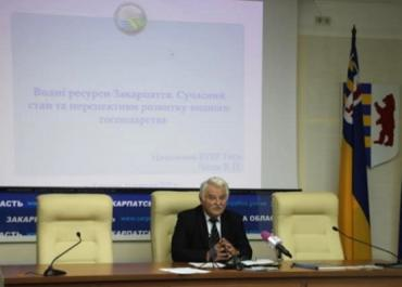 Начальник бассейнового управления водных ресурсов р. Тиса В.Чипак