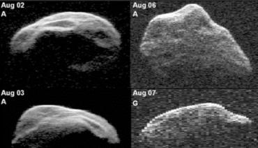 Траектория полета километрового астероида 1950 DA проходит близко от Земли