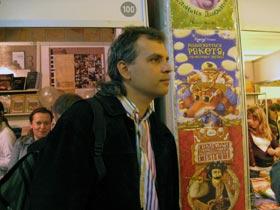 Александр Гаврош появился в писательской среде почти со скандалом – со сборником эротических стихов «Фаллические знаки».