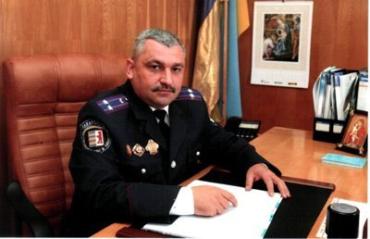 Віталій Шимоняк - очільник ужгородської міської міліції