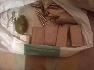 Мукачевский пенсионер хранил дома гранату, патроны и взрывчатку