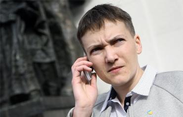 Савченко пытаются закрыть рот