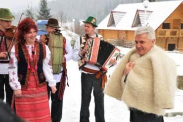 Спикер Владимир Литвин посетил Закарпатскую область