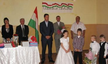 Степан Деркач привітав першокласників з Днем знань