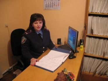 В Ужгороді відділ кримінальної міліції у справах дітей очолює Людмила Талабішка
