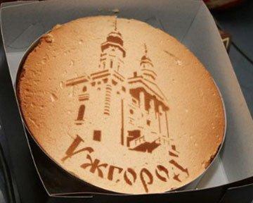 В Ужгороде презентуют фирменный торт