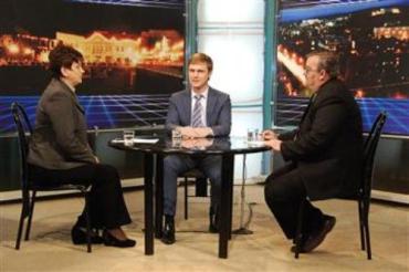 Лунченко отвечал на вопросы закарпатцев в прямом эфире