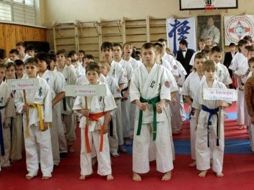В Ужгороде соберутся молодые мастера по киокушинкай каратэ