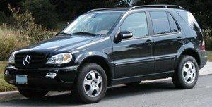 На Закарпатье задержали контрабандный Mercedes-Benz ML 320