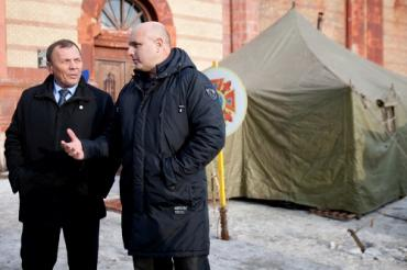 В Ужгороде перед наступлением морозов открыли пункт обогрева