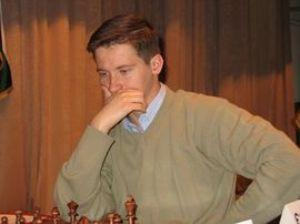 Захар Ефименко из Мукачево на турнире имени Карпова в России