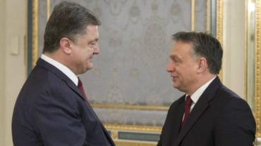 Орбан поздравил Порошенко с успешным проведением честных выборов