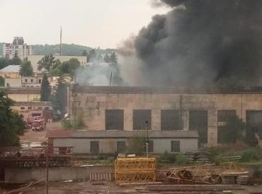 У Львові 25 липня сталася масштабна пожежа