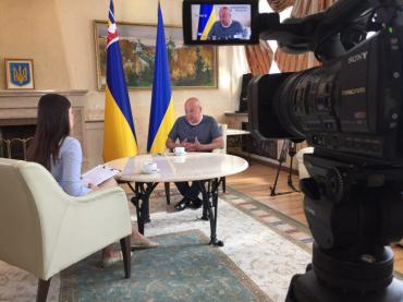 Геннадій Москаль в гостях у програми «З перших вуст»