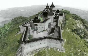 Хустський замок є однією з найбільш знакових пам'яток Карпат.