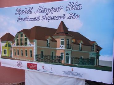 Новозбудований дім буде культурним центром всім угорцям Рахівщини