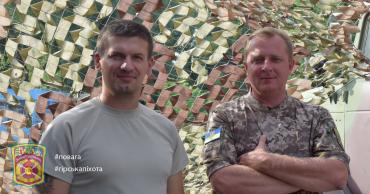 Герой України Сергій СОБКО та Герой України Сергій ШАПТАЛА