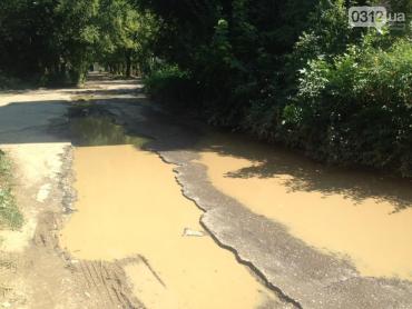 Ужгород, Вулиця Грушевського перебуває у жалюгідному стані
