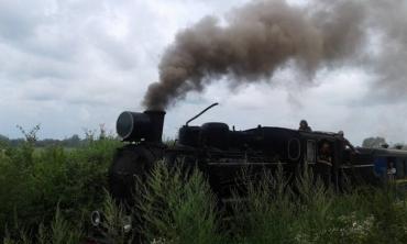 Ретро-паровоз ГР-280 наразі перебуває на ремонті.