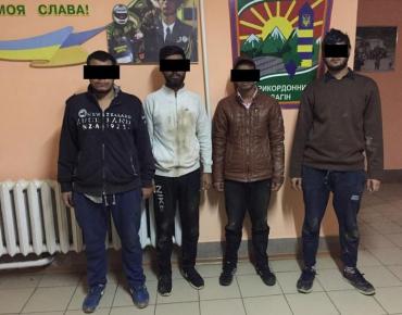 Затримані індуси доставлені у відділ прикордонної служби «Вилок»