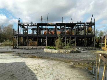 Пожежа знищила базу відпочинку на закарпатській Тячівщині