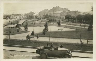 Ужгород. площа та вулиця Петефі у 30-ті роки