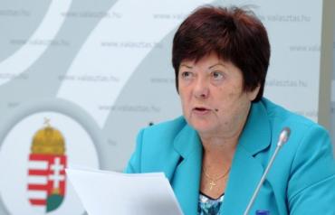 Голова Національної виборчої комісії Угорщини (NVI) Ілона Палфі