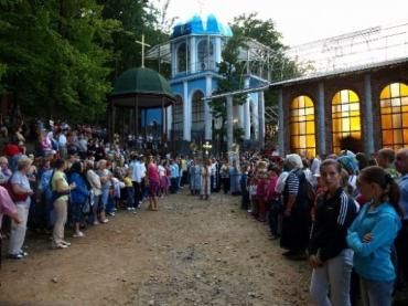 Паломники з усієї України приїжджають на Закарпаття