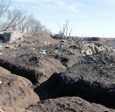 К северу от Дебальцево обнаружено массовое захоронение украинских военнослужащих