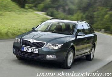 Стоимость газовой версии Skoda Octavia стартует от 18,19 тыс. евро