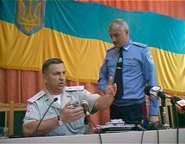 Начальник Закарпатского УМВД Чепак дискутирует с замом Луценко Савченко