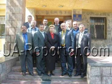 Ветерани війни та чорнобильці на зустрічі в Ужгороді