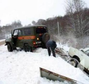 Массовое ДТП в Черниговской области: столкнулись 16 авто